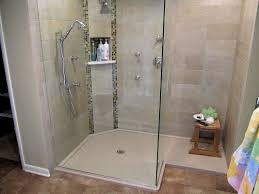 ... Appealing Shower Base With Glass Doors Glass Shower Enclosure Kits  Custom Shower Pan Frameless ...