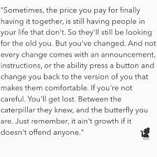It Ain't Growth If It Doesn't Offend Anyone Quotes That I Love Custom Quotes About Change And Growth