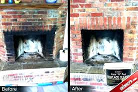 remove brick fireplace removing paint from brick fireplace how to clean fireplace brick remove latex paint