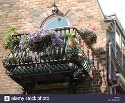 Italian Balcony outside an artist studio in Sheffield