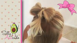 Pretty Girl Hair Style hair bow hairstyle tutorial easy & cute how to do a hair bow 6274 by wearticles.com