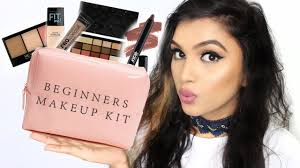 beginners makeup kit essentials must haves affordable makeup options