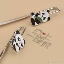 2018 panda bookmark student s gift chinese cultural gifts reading bookmark with opp bag china style souvenir best gift