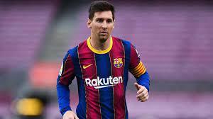 Barcelona confirm Lionel Messi won ...