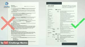 Resume Tips How To Write A Good Resume Resume Building For