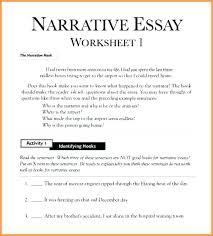 Format Of A Narrative Essay Dew Drops