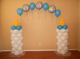 Baby Bottle Balloon Decoration carraige balloon arch Baby Bottle Arch for a Baby Shower Baby 1