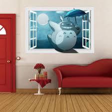 Kids Bedroom Wall Popular Totoro Wallpaper Buy Cheap Totoro Wallpaper Lots From