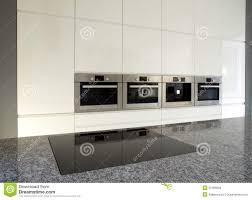 Kitchen Appliances Built In Built In Kitchen Appliances Stock Photo Image 11379170