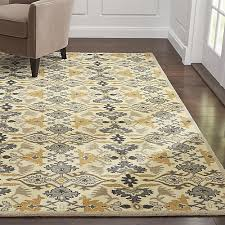 Crate and Barrel Delphine Sage Green Wool Rug crate and barrel memorial day  sale