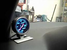 youtube com Amp Gauge Wiring Diagram instalacion de medidor de presion de turbo apexi boost gauge en bares psi libras