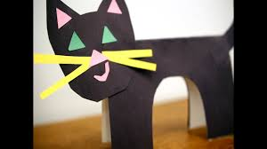 How To Make A Paper Cat Easy Steps For A Cute Black Cat