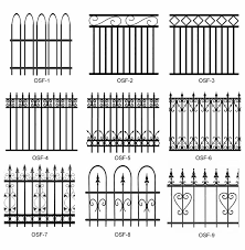 metal fence design. Choosing The Panels You Like To Decorate Steel Fences Metal Fence Design S