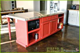 kitchen island from stock cabinets kitchen island from stock cabinets build