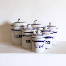 French Canisters Kitchen White Canister Sets Kitchen Vintage Ceramic Kitchen Canister Sets