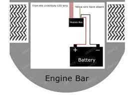 how to install car led strip lights 5 steps led car underbody strip 09 jpg