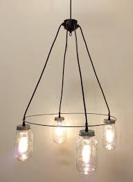 living captivating chandelier light fixture 13 mason jar zinc ring lighting mount lamp goods 6 jpg
