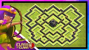 Clans Of Clans Base Design Best Town Hall 9 Trophy Base 2019 Link To Copy Clash Of Clans Th9 Base Design Layout Defense