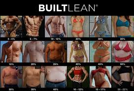 Body Fat Percentage Photos Of Men Women 2019 Builtlean
