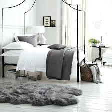 gray sheepskin rug faux fur area rugs grey gray sheepskin rug