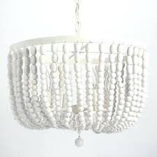 small white chandelier amazing white chandelier in antique whitewash wood bead world market inspirations