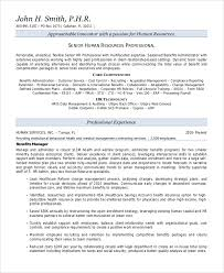 9 Sample Resume Summary Statements Sample Templates