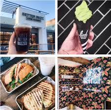 People talk about toast, cafe and brunch. Sandiegoville Better Buzz Coffee Roasters Unveils New Pacific Beach Location Featuring Matcha Soft Serve Rooftop Patio