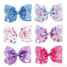 2018 4 hot ing unicorn bow heart bow ribbon bows hair clips baby girls diy hair accessory supply from momlovediy 0 64 dhgate com