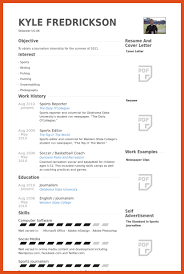 Reporter Resume | Moa Format