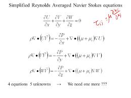 navier stokes equation derivation ppt tessshlo