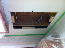 how to patch ceiling com fix hole in drywall large a big fix hole drywall in ceiling