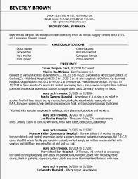 Best Ultrasound Technician Resume Example Medical Technologist ...