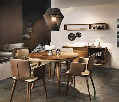 image of awesome small round dining table