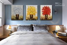 Wall paintings for office Creative 2019 Modern Flower Oil Painting Canvas Thick Oil Abstract Handmade Home Office Wall Art Decor Decoration From Fashiondig 7543 Dhgatecom Qiqigallery 2019 Modern Flower Oil Painting Canvas Thick Oil Abstract Handmade