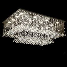 trend of ceiling chandelier lights and new design rectangular crystal ceiling chandelier lighting modern