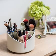 spinning makeup brush organizer. stock your home spinning makeup organizer for use as a brush holder, bathroom