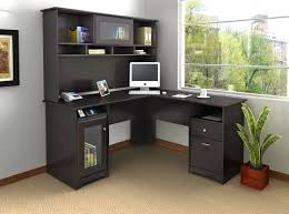 white desks for home office. Home Office Gorgeous Black Colored L Shaped Desks Which With Nice Big White Desk For Your Concept R
