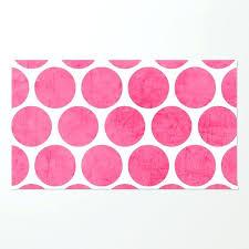 pink polka dot rug pink polka dots rug pink polka dot rug pottery barn pink and
