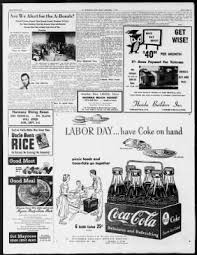 Coca Cola St Petersburg Fl Tampa Bay Times From St Petersburg Florida On September 1 1950 32