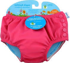 I Play Inc Swimsuit Diaper Reusable Absorbent 24
