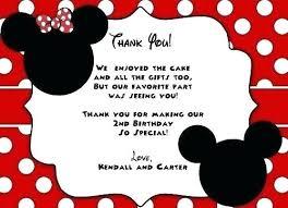 Minnie Mouse Birthday Template Simplish Info