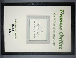 black wood certificate frames 1 2inch a range