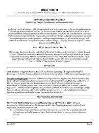 Best Resume Format For Electronics Engineers 42 Best Software