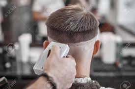 Haircut And Hair Styling In Barbershop Hair Care Mens Style And