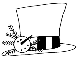 Template Of A Snowman 15 Snowman Hat Template Images Printable Snowman Hat