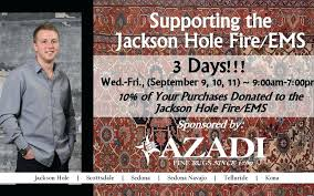 azadi fine rugs fine rugs supports hole fire ems