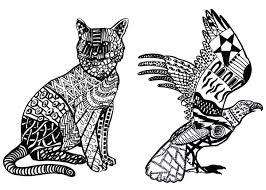Disegni Di Animali Matita Sg99 Migliori Pagine Da Colorare