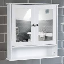 image of double medicine cabinet mirror