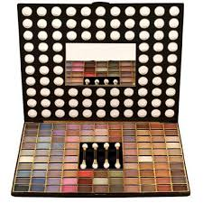 new mac 98 color shimmery eye shadow professional kit
