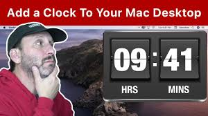 How To Add a Clock To Your Mac Desktop ...